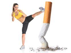 Wer aufs Rauchen verzichtet, hilft der Gesundheit