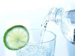 Gesundes Mineralwasser