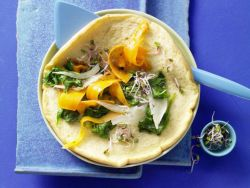 Omelett ist lecker und schnell zubereitet.