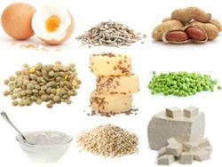 Vegetarische Eiweißquellen