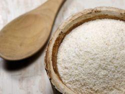 Grieß besteht aus Getreide