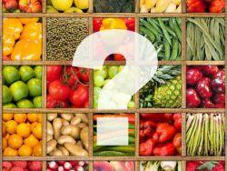 Viele verschiedene Obst- und Gemüsesorten - Wer isst was?