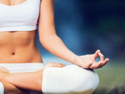 Yoga ist sehr gesund und kräftigt unsere Muskulatur.