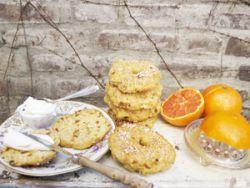 Süße Frühstücks-Bagels