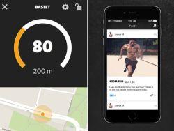 Screenshot der neuen Running-App von Freeletics