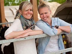 Stella Peters und Kaja Ringert