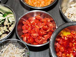 Kochen mit frischen Zutaten