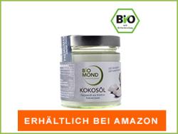Kokosöl bei Amazon erhältlich