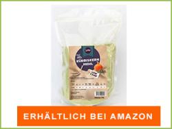 Kürbismehl bei Amazon erhältlich