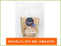 Leinsamenmehl bei Amazon erhältlich
