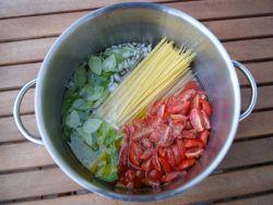 One-Pot-Pasta Tomate Zutaten