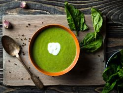 Spinatsuppe - Souping