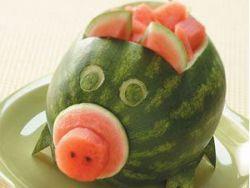 Wassermelonen-Schale