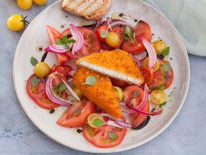 Bunter Tomatensalat