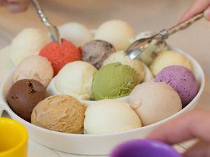 Exotische Eissorten