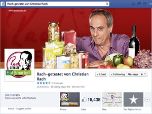 Facebookseite von Christian Rach