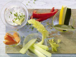 Gemüse-Sticks