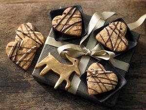 Selbst gebackene Kekse sind Geschenke aus der Küche