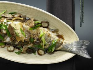 Geschmorter Fisch Shanghai