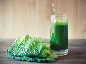Green Smoothie mit Kohl