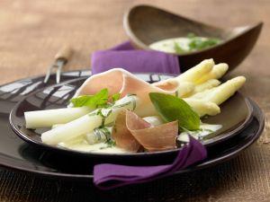 Kochbuch für kalorienarme Spargelrezepte