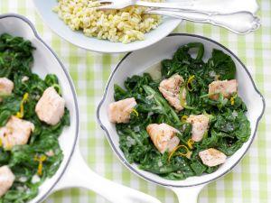 Kochbuch für Spinat-Rezepte