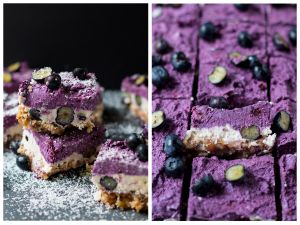 Raw Blueberry-Cheesecake