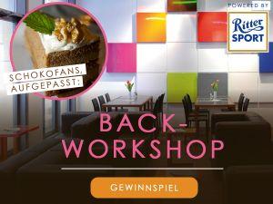 Ritter Sport Back-Workshop zu gewinnen
