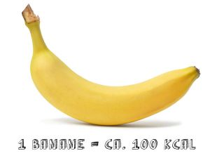 snacks unter 150 kalorien banane