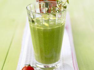 Spinat-Smoothie mit Joghurt