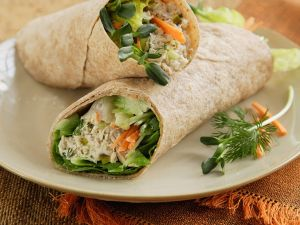 Thunfisch-Wraps