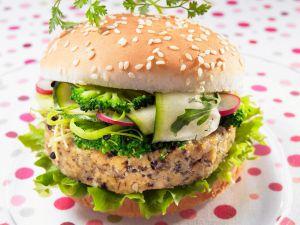 Kochbuch für Tofu Burger-Rezepte