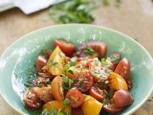 Kochbuch für Tomatensalat-Rezepte