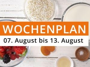 Wochenplan KW 32