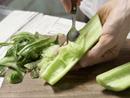 Ananas-Gurken-Salsa: Zubereitungsschritt 2