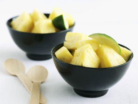 Ananas-Limetten-Salat
