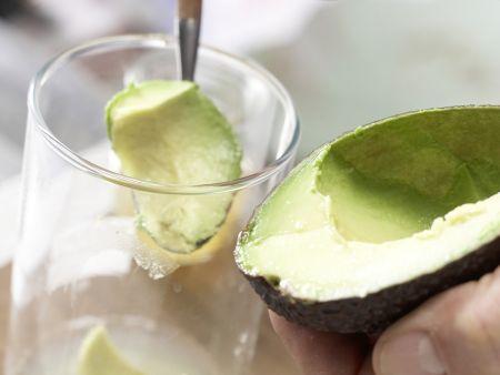 Apfel-Avocado-Smoothie: Zubereitungsschritt 2