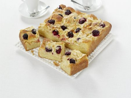 Apfel-Brombeer-Kuchen mit Streuseln