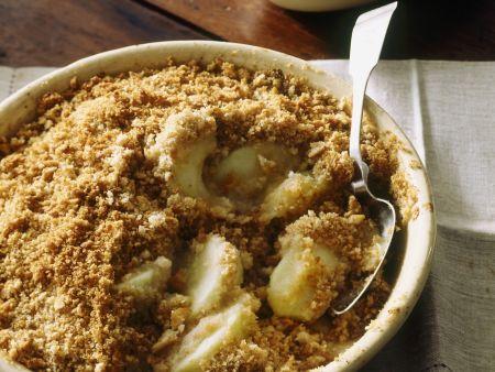 Rezept: Apfel-Crumble