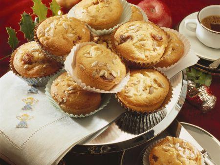 Apfel-Dattel-Muffins