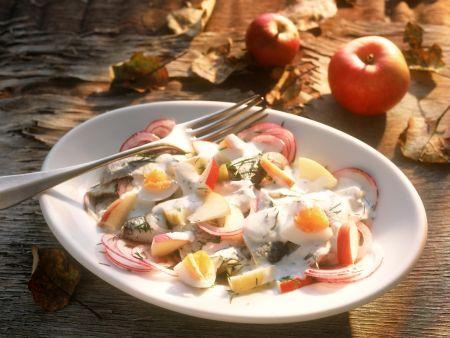 Apfel-Heringssalat
