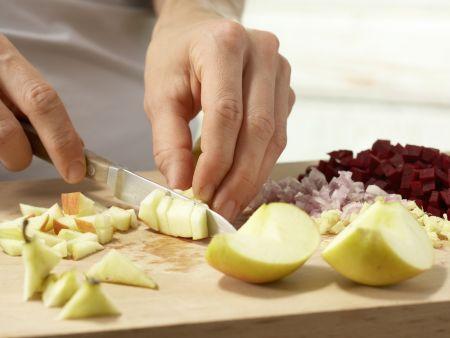 Apfel-Holunder-Suppe: Zubereitungsschritt 3