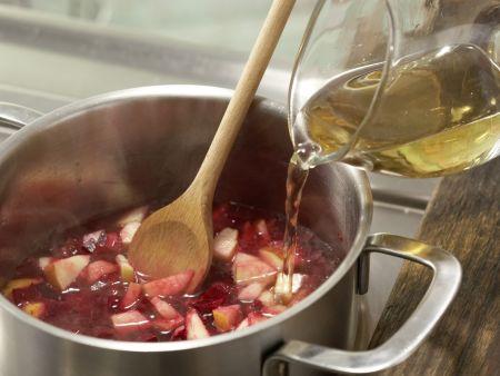 Apfel-Holunder-Suppe: Zubereitungsschritt 5