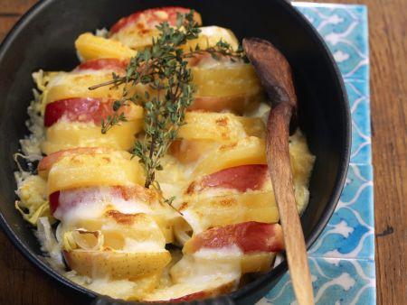 Apfel-Kartoffel-Auflauf