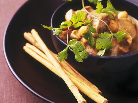 Apfel-Lamm-Topf mit Kichererbsen und Zimt