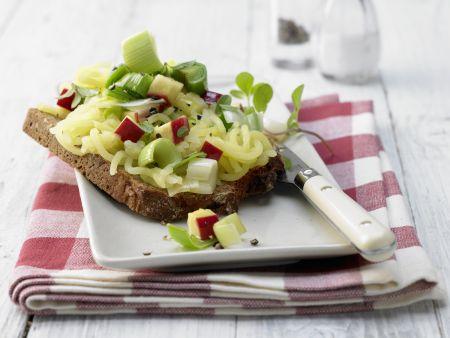 Apfel-Majoran-Brote