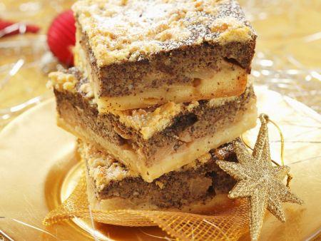 Apfel-Mohnkuchen