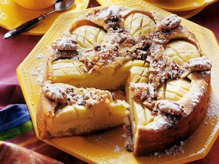 Apfel-Pecannuss-Kuchen
