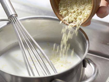 Apfel-Sanddorn-Brei mit Hirse: Zubereitungsschritt 1