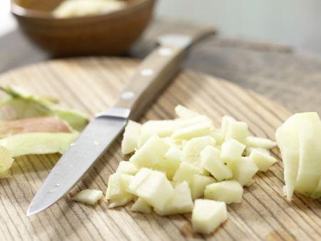 Apfel-Sanddorn-Brei mit Hirse: Zubereitungsschritt 2